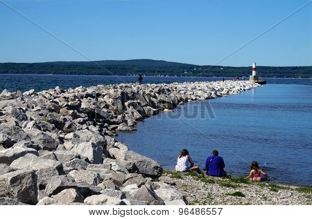 Petoskey Breakwater