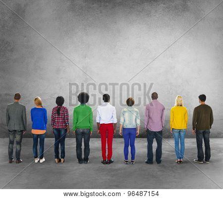 Diverse Diversity Ethnic Ethnicity Unity Variation Concept