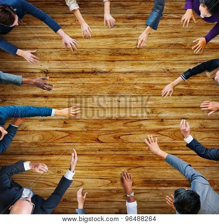 Business People Meeting Working Team Teamwork Concept