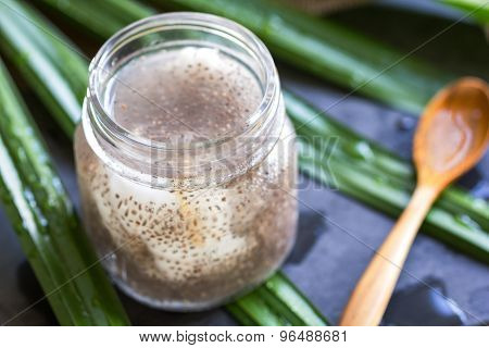 Chia In Fresh Coconut Water