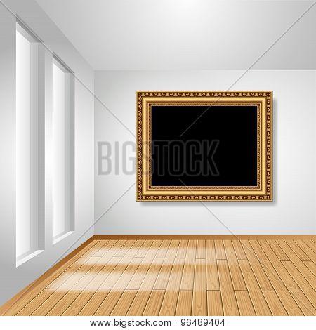 Room With Picture Frame