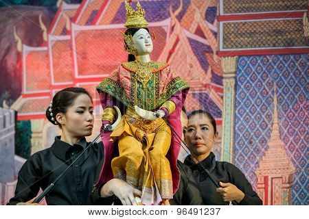 Thai Traditional Grand Puppet