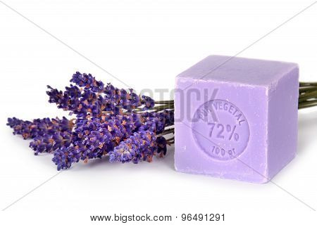 Natural Lavender Soap