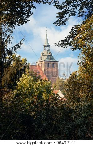 Das Historische Zentrum Von Lüneburg, Deutschland