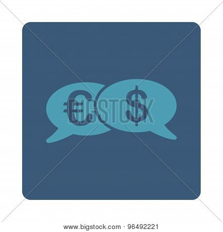 Banking Transactions Icon from Commerce Buttons OverColor Set