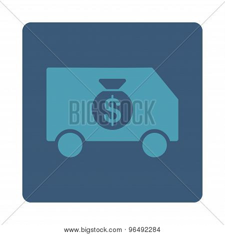 Collector Car Icon from Commerce Buttons OverColor Set