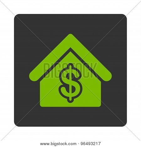 Mortgage Icon from Commerce Buttons OverColor Set