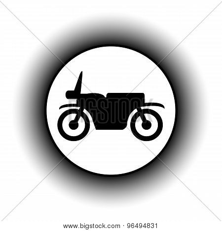 Motorcycle Button.