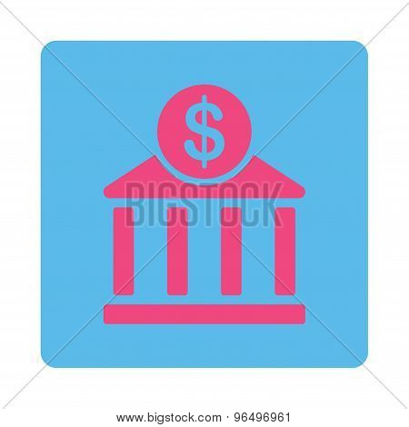 Bank Icon from Commerce Buttons OverColor Set