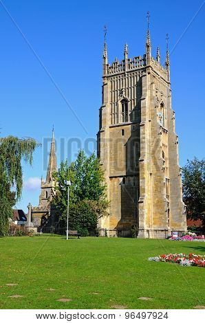 Evesham Abbey Clock Tower.