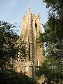 picture of duke  - Duke Chapel at Duke University - JPG