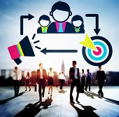 picture of mentoring  - Coaching Leadership Mentoring Target Concept - JPG