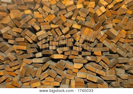 Extremos de madera