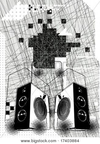 music volume speaker