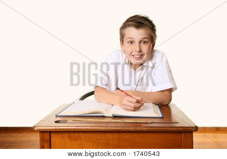 Eager School Student