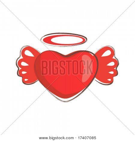 love heath vector symbol