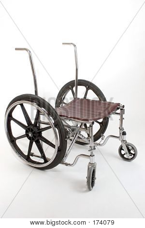 Broken Down Wheelchair