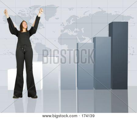 Colum Chart - Business Success