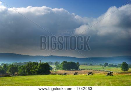 Antietam Schlachtfeld Panorama