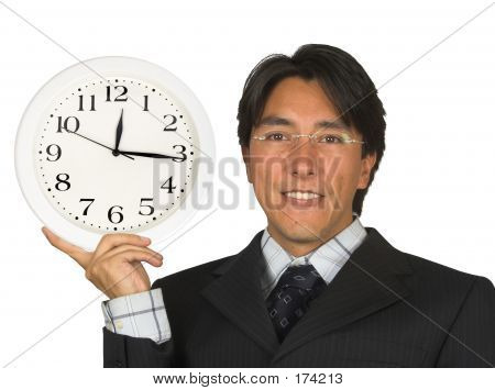 Business Time Management - Man With Glasses