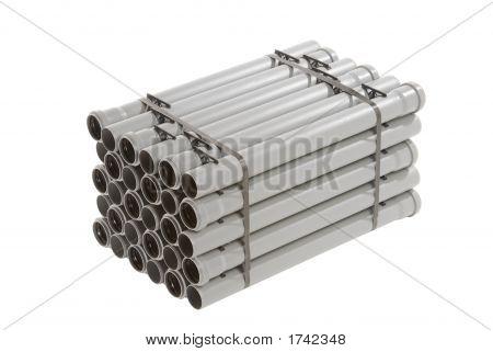 Gray Pvc Pipes