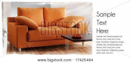 modern lounge background