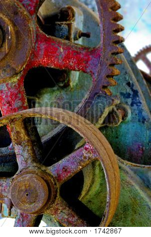 Old Industrial Gears