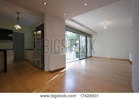 empty house interior