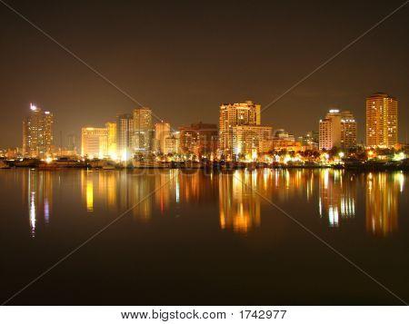 Manila Bucht Skyline