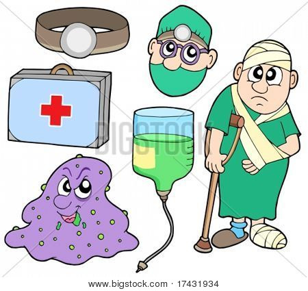 Medical collection 2 - vector illustration.