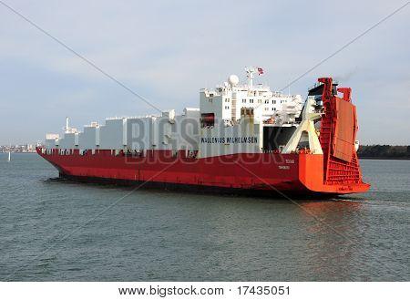 Bulk Cargo Ship Texas.