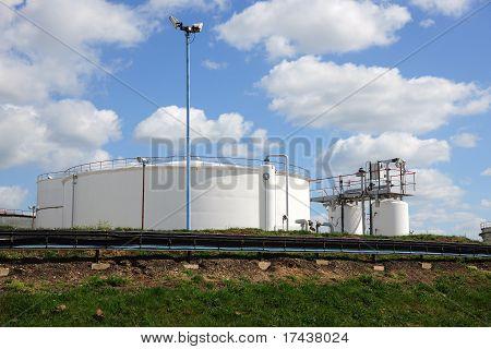 Crude Oil, Blue Sky.