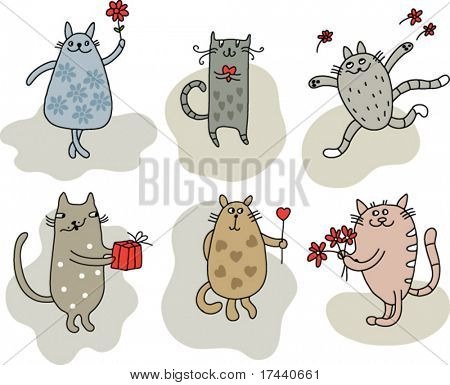 Cats for congratulation
