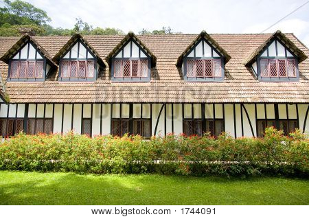 Colonial Tudor Style Mansion