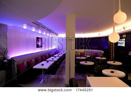 interior of a night club