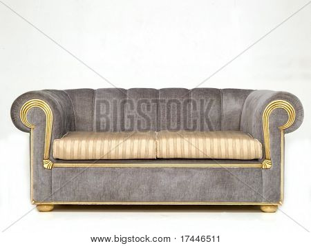 Sofa, isolated on white