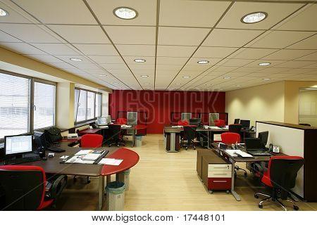 Interieur eines modernen Arbeitsplatzes