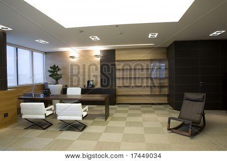 Innenraum eines Büros in modernes apartment