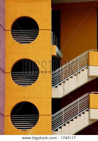 Bulding Stairs, Tampa, Florida