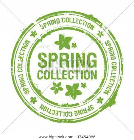 Frühling Sammlung Stempel