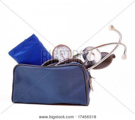The medical device for blood pressure measurement, tonometer.