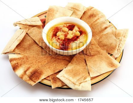 Hummus And Bread