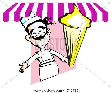 Glaces y helado de crema