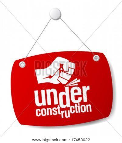 unter Bau-Zeichen