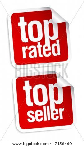Top seller stickers set