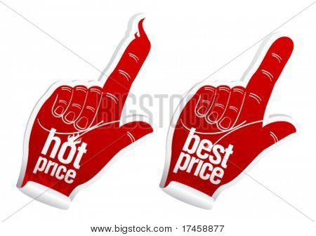 Hot best price stickers set