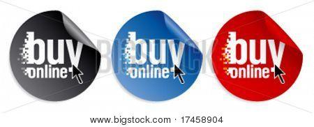 Comprar online pegatinas.