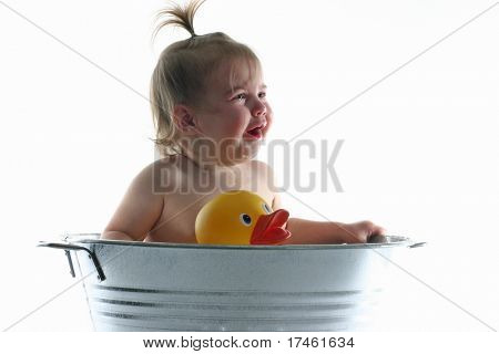 Crying in the Tub