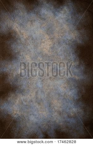 Textured Mottled Blue and Grey Portrait Backdrop (Insert your subject)