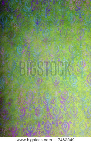 Green and Purple Background Muslin Backdrop (Insert your client)